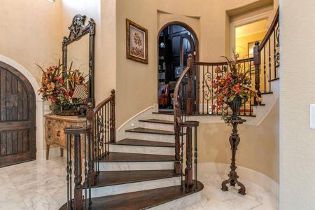 Shenandoah, Texas - stairway