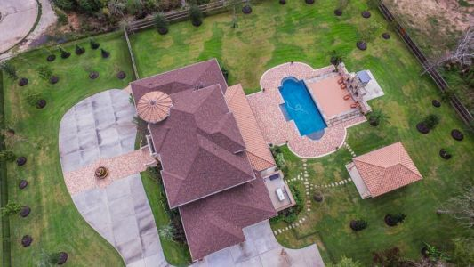 Shenandoah, Texas - Aerial view