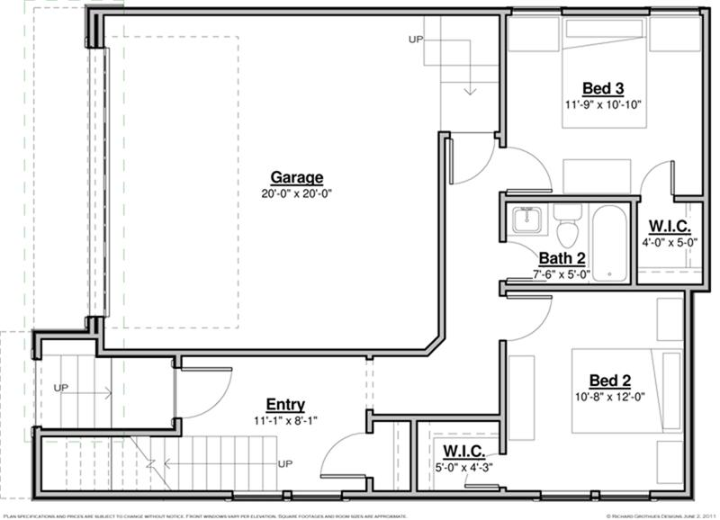 Simple single family floor plans placement house plans for Single family house plans