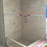 shower construction