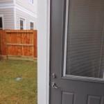 door to garage apartment