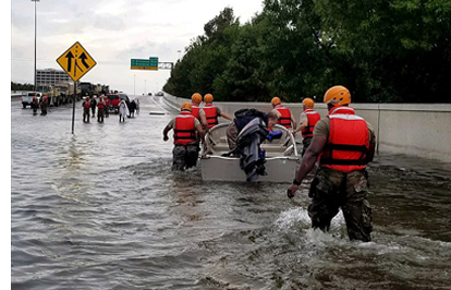 Texas Army National Guard - Hurricane Harvey Response